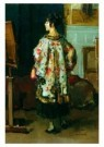 Isaac Israels (1865-1934)  -  Model in driekwart - Postcard -  A8961-1