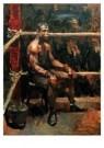 Isaac Israels (1865-1934)  -  De negerbokser - Postcard -  A8963-1