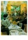 Isaac Israels (1865-1934)  -  Café in Parijs - Postcard -  A8969-1