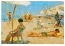Isaac Israels (1865-1934)  -  Lido, Venetid - Postcard -  A8977-1