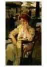 Isaac Israels (1865-1934)  -  Meisje in Hyde park - Postcard -  A8978-1