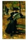 Isaac Israels (1865-1934)  -  Bois de Boulogne - Postcard -  A8981-1