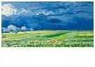 Vincent van Gogh (1853-1890)  -  Wheatfield under thunderclouds, 1890 - Postcard -  A90482-1
