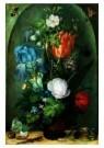 Roelant Saverij (1576-1639)  -  Bloemstuk met twee hagedissen, 1603 - Postcard -  A9069-1