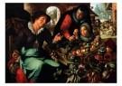 Joachim Wtewael (1566-1638)  -  De groentevrouw - Postcard -  A9079-1