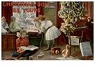 A.N.B.  -  Kinderen spelen bij de kerstboom - Postcard -  A90807-1