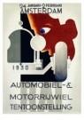 A.M.Cassandre(1901-1968)  -  Rai Automobiel en Mo - Postcard -  A9096-1