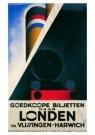 A.M.Cassandre(1901-1968)  -  Goedkope biljetten - Postcard -  A9102-1