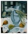Ger Langeweg (1891-1970)  -  Stilleven prei, pe - Postcard -  A9107-1
