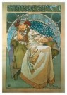 Alphons Maria Mucha (1860-1939 -  Princess Hyacintha - Postcard -  A9160-1