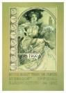 Alphons Maria Mucha (1860-1939 -  Menu design for the o - Postcard -  A9175-1