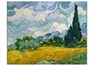 Vincent van Gogh (1853-1890)  -  Wheat Field with Cypresses, 1889 - Postcard -  A92252-1