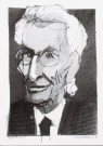 Karel Kindermans  -  Harry Mulisch, 1998 - Postcard -  A9233-1