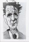 Karel Kindermans  -  Simon Carmiggelt, 1997 - Postcard -  A9234-1