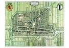 Delft  -  Platte grond Delft - Postcard -  A9308-1