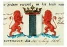 Delft  -  Gemeentewapen Delft - Postcard -  A9309-1