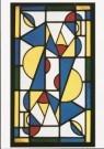 Theo van Doesburg (1883-1931)  -  Dans I (in primaire kleuren), 1917 - Postcard -  A9329-1