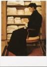 Theo Molkenboer (1871-1920)  -  Moeder bij de linnenkast, 1894-1895 - Postcard -  A9362-1