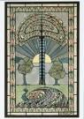 Jan Kreunen (1892-1918)  -  Ontwerp voor glas-in-lood-raam, ca. 1913/14 - Postcard -  A9364-1