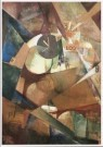 Kurt Schwitters (1887-1948)  -  Dass grosse Ich-Bild, 1919 - Postcard -  A9369-1