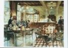 Peter Hartwig (1963)  -  Cafe Krul, 1999 - Postcard -  A9491-1