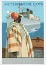 Dio Rovers (1896-1990)  -  Prentbriefkaart naar een scheepsaffiche ca. 1924 - Postcard -  A9497-1