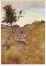 William H.Singer (1868-1943)  -  Landschap met schapen op Monhegan eiland, 1901 - Postcard -  A9515-1