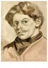 Theo van Doesburg (1883-1931)  -  Zelfportret, 1905 - Postcard -  A95181-1