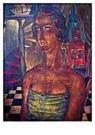 Reimond Kimpe (1885-1970)  -  Damesportret Middelburg - Postcard -  A9534-1