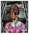 Reimond Kimpe (1885-1970)  -  Meisje voor het raam - Postcard -  A9535-1
