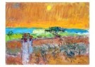 Dirk van Gulik (1904-1982)  -  Landschap bij cura - Postcard -  A9542-1
