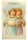 A.N.B.  -  Twee kerstengelen - Postcard -  A96058-1