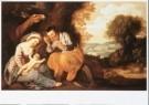 Lambert Jacobsz (1598-1636)  -  De rust op de vlucht naar Egypte, 1624 - Postcard -  A9623-1