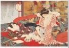 Utagawa Kunisada (1786-1864)  -  Sho-utushi Aloi genji 1851 - Postcard -  A9638-1