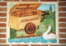 Herman Souer (1931-2015)  -  (Millennium) gevelsteen: 'DE BAKKERSKAR ANNO MM' - Postcard -  A9665-1
