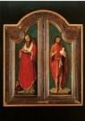 Adriaen Isenbrandt (1485-1551) -  Hieronymus en Johannes de Doper / A. Isenbrandt, 1 - Postcard -  A9704-1