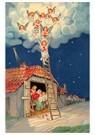 A.N.B.  -  Maria, Josef en Jezus met daarboven kerstengelen - Postcard -  A97112-1
