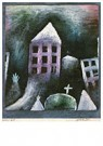 Paul Klee (1879-1940)  -  Destroyed Place, 1920 - Postcard -  A97121-1