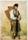 Daubigny (1817-1878)  -  De druivenplukker, voor 1863 - Postcard -  A9715-1