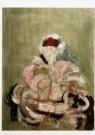 David Kouwenaar (1921-2011)  -  Portret Jeanne, 1989 - Postcard -  A9770-1
