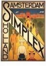 F. Hart Nibbrig (1866-1915)  -  Affiche Simplex - Postcard -  A9813-1