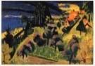 Jan Wiegers (1893-1959)  -  Landschap (Zwitserl - Postcard -  A9826-1