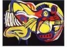 Karel Appel (1921-2006)  -  Vliegende hond - Postcard -  A9882-1