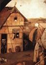 Jheronimus Bosch (1450-1516)  -  Detail van de Marskramer - Postcard -  A9944-1