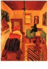 Jan Wiegers (1893-1959)  -  Slaapkamer van Kirc - Postcard -  A9956-1