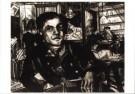 Charlie Toorop (1891-1955)  -  Cafe interieur - Postcard -  A9960-1