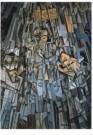 Salvador Dali (1904-1989)  -  Kubistisch zelfportret - Postcard -  A9971-1