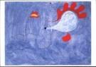 Joan Miro (1893-1983)  -  Schilderij spaanse vla - Postcard -  A9975-1