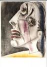Pablo Picasso (1881-1973)  -  Huilende kop V - Postcard -  A9980-1