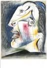 Pablo Picasso (1881-1973)  -  Huilende kop VI - Postcard -  A9981-1